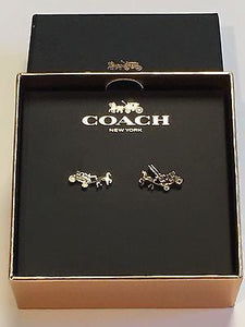 Earrings - COACH Horse & Carriage Earring