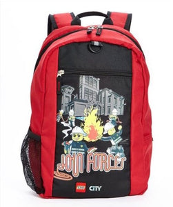 Backpack - Lego City Join Forces  Backpack