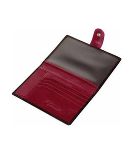 Passport Holder - VICENZO Brown & Leather Paris Travel Passport