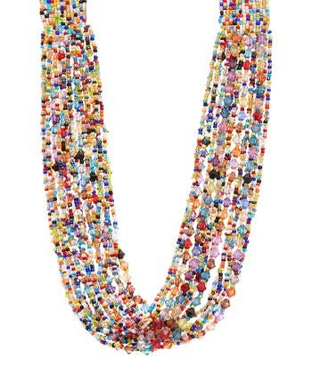 Rainbow Beaded Jewelry