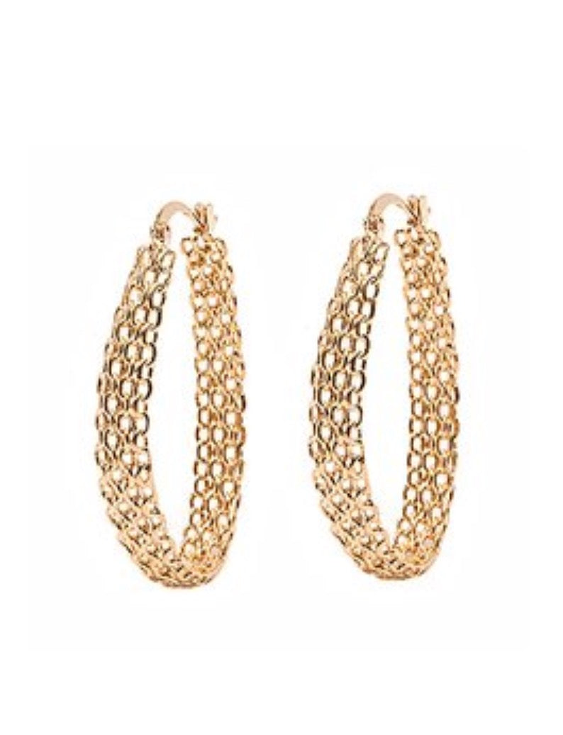 Earrings - Gold Hoop Earring