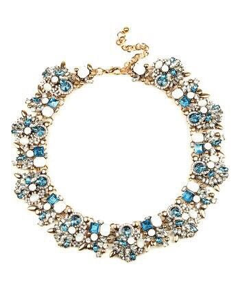 Eye a Candy LA Blue Ivy Necklace