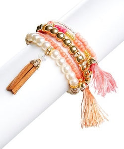 Bracelet - For the Love of Mercy Multistrand Stretch Bracelet