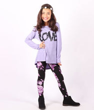 Girls - Lori & Jane Hi-Low Top & Legging - Girls