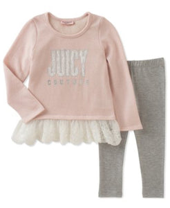 Juicy Couture Ruffle Tunuc & Legging
