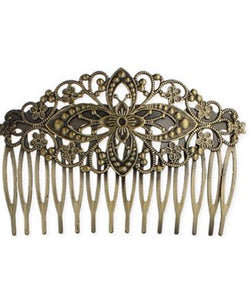 Hair Accessories  - Antique Scroll Comb
