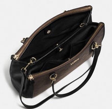 Coach Signature Christie Carry Handbag