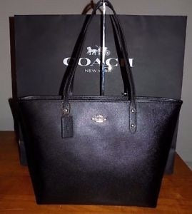Coach Crossgrain Leather Large City Tote