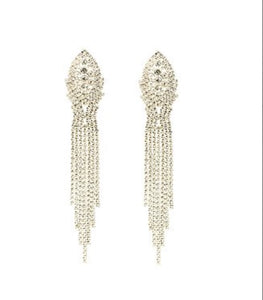 Eye Candy LA Crystal An Evening Out Drop Earrings