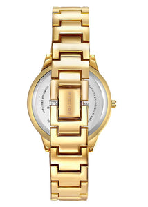Watch - Mestige Gold Orwell Bracelet Watch with Swarovski® crystals
