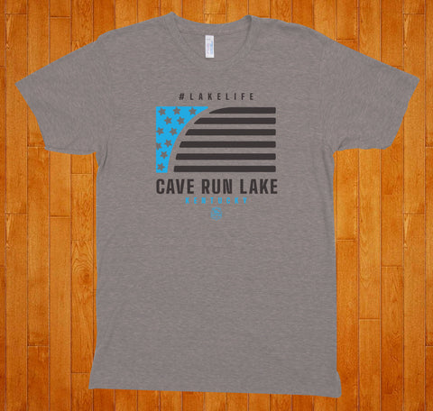 Copy of Cave Run Lake / LakeLife -(Grey) Tee