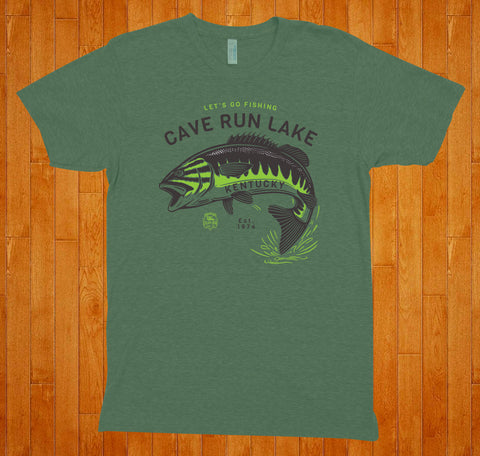 Cave Run Lake / Let's Go Fishing - Tee