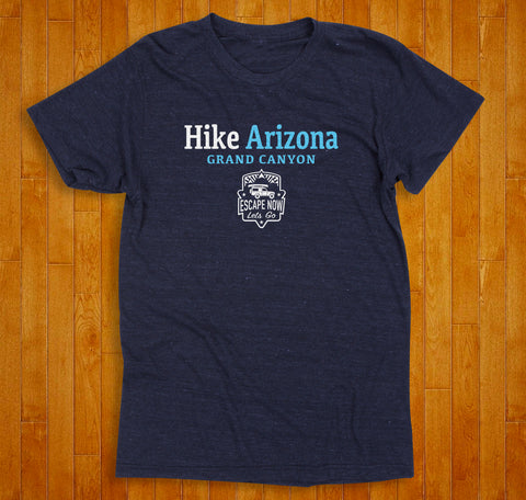 Escape Now | Lets Go -- Hike Arizona T-Shirt (Storm)
