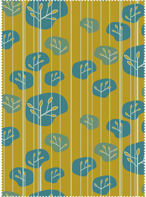 Grove Fabric - Ochre Cotton