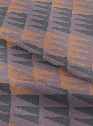 High Noon Fabric - Desert Lilac Cotton