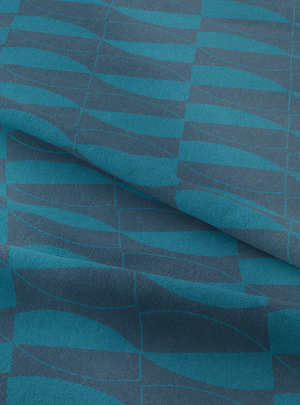 Prism Fabric - Moody Blue Cotton