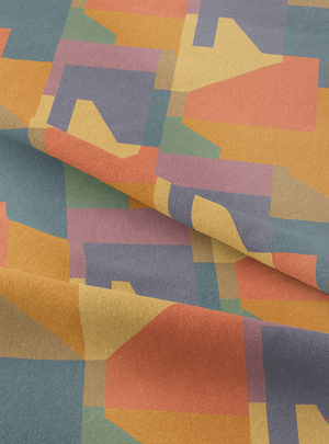 Brut Fabric - Sundown Cotton