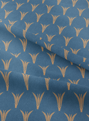 Load image into Gallery viewer, Plantings Fabric - Mood Indigo Cotton