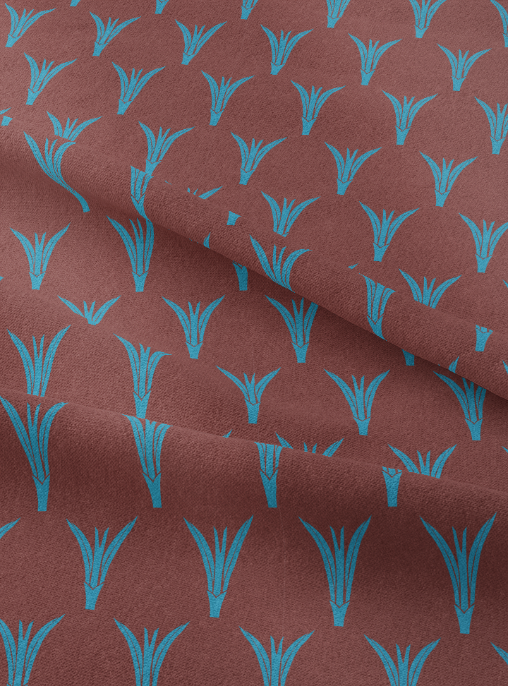 Plantings Fabric - Loamy Brown Cotton