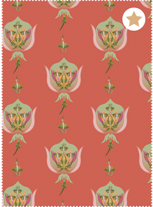 Load image into Gallery viewer, Nature's Ragas Fabric - Warm Peach Cotton