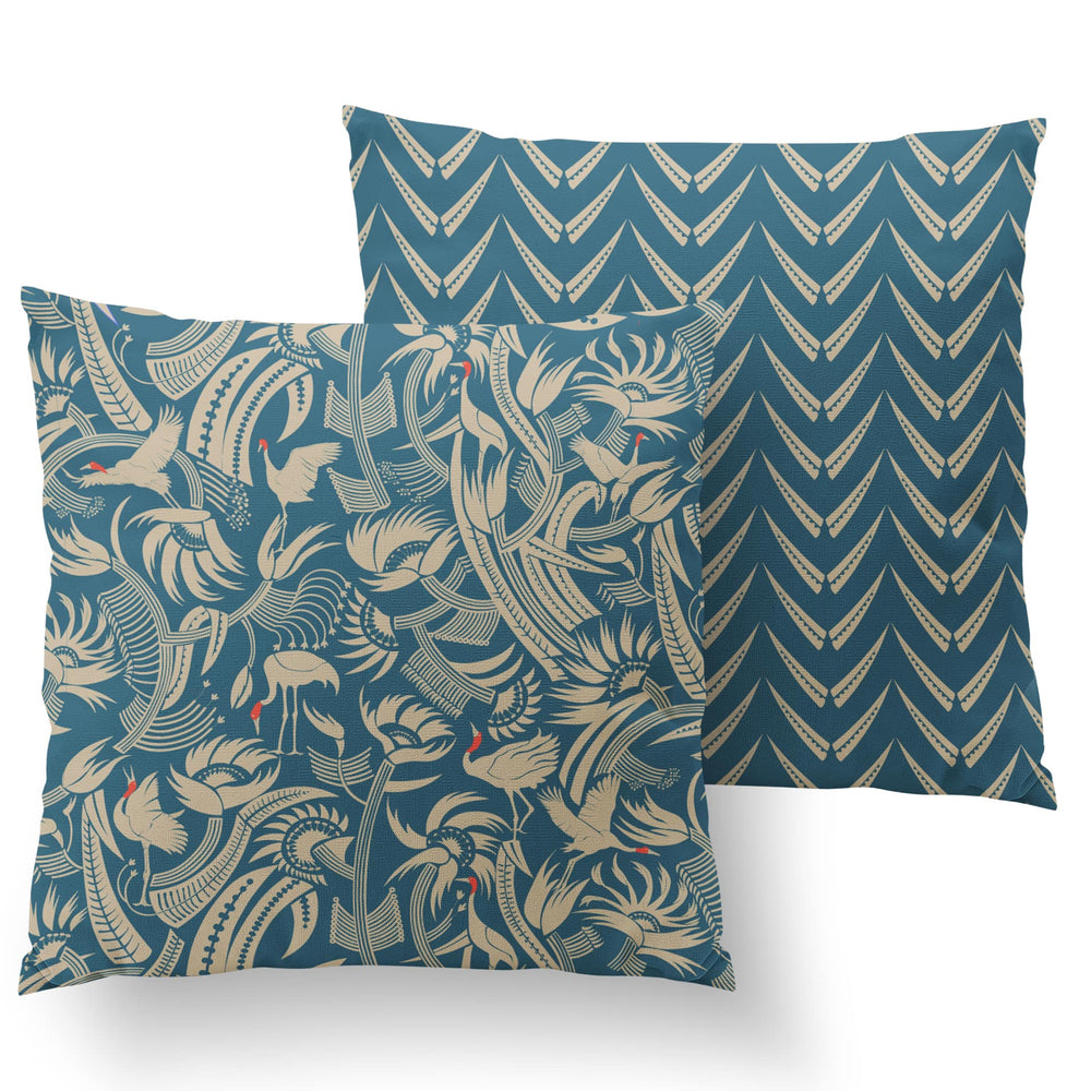 You Can't Put Butter On a Crane's Head Cushion - Aegean Linen 50x50cm