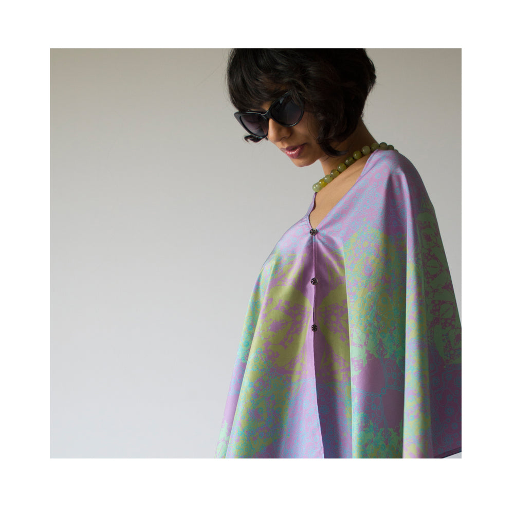 Cloud Dance Wrap - Sweet Lavender Pure Silk