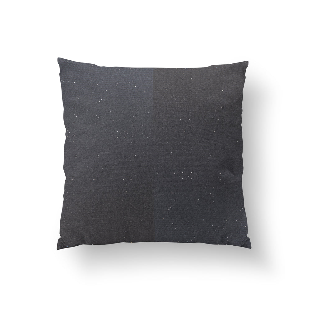 Starry Night Charcoal - HANDLOOM RAW SILK