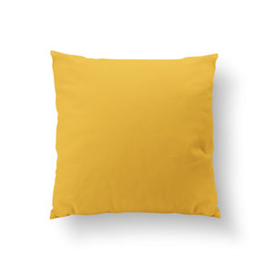 Contest Cushion - Turmeric Yellow Pure Mulberry Silk 50x50cm