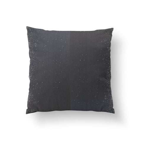 Starry Night Charcoal - NATURAL LINEN