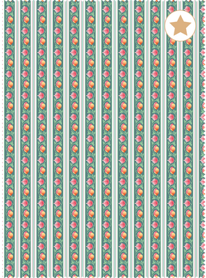 Load image into Gallery viewer, Rajbari Trellis Fabric - Panna Green