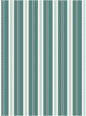 Load image into Gallery viewer, Lawnmower Stripes Fabric - Panna Green Cotton