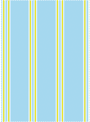 Lawnmower Stripes Fabric - Akaash Blue Cotton