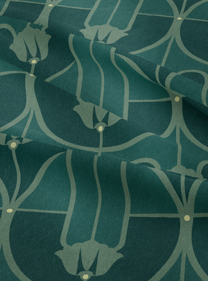 Load image into Gallery viewer, My Beloved Fabric - Dark Green Cotton Linen