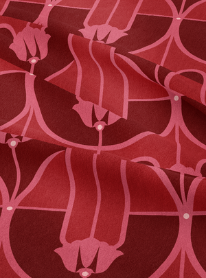 My Beloved Fabric - Ruby Red Cotton Linen