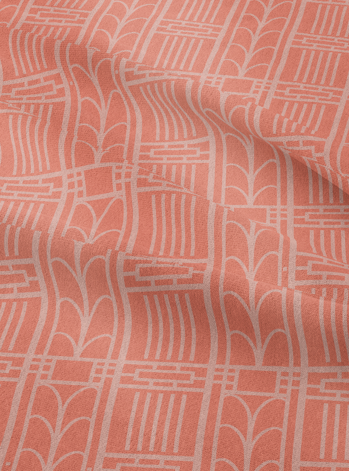 Load image into Gallery viewer, Dwelling Fabric - Peach Melba Cotton Linen