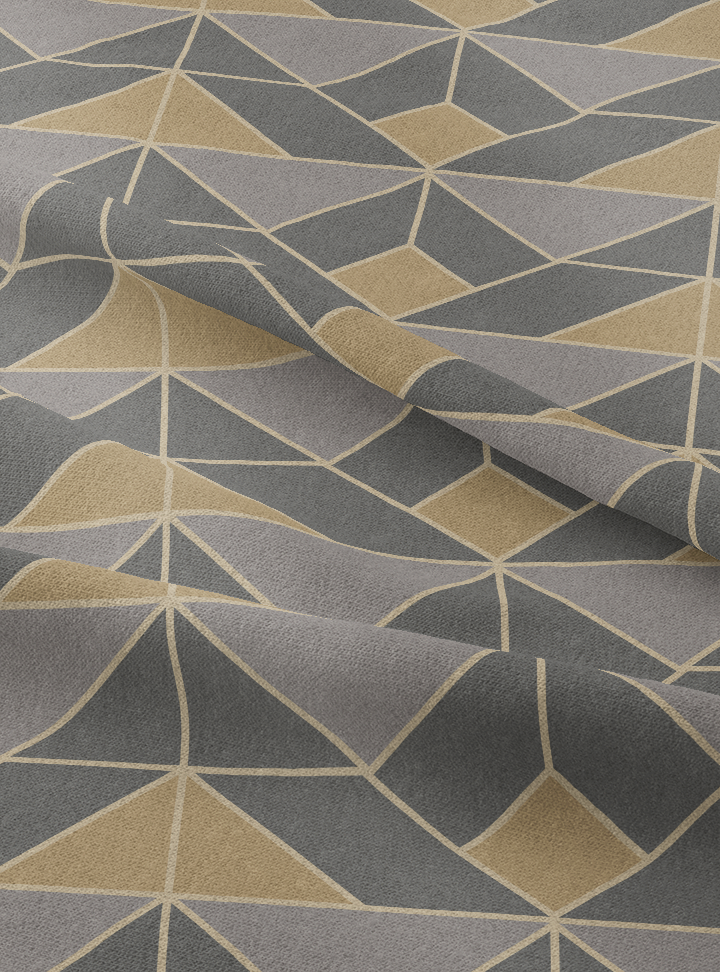 Marine Drive Fabric - Limestone Cotton
