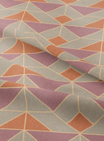 Marine Drive Fabric - Old Rose Cotton