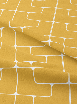 Oceana Fabric - Sweet Yellow Cotton