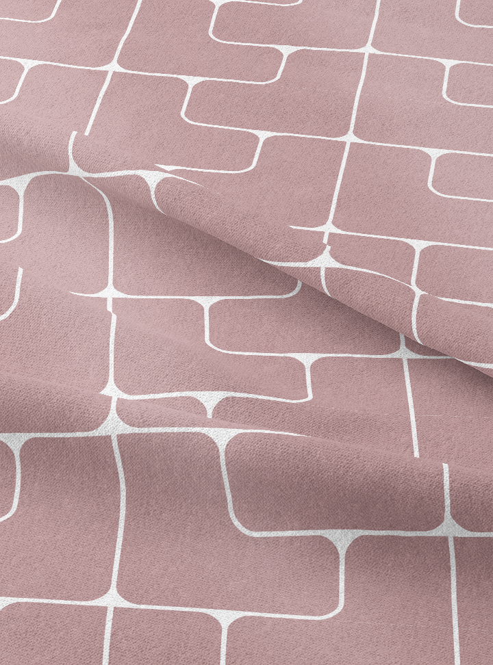 Oceana Fabric - Sweet Rose Cotton