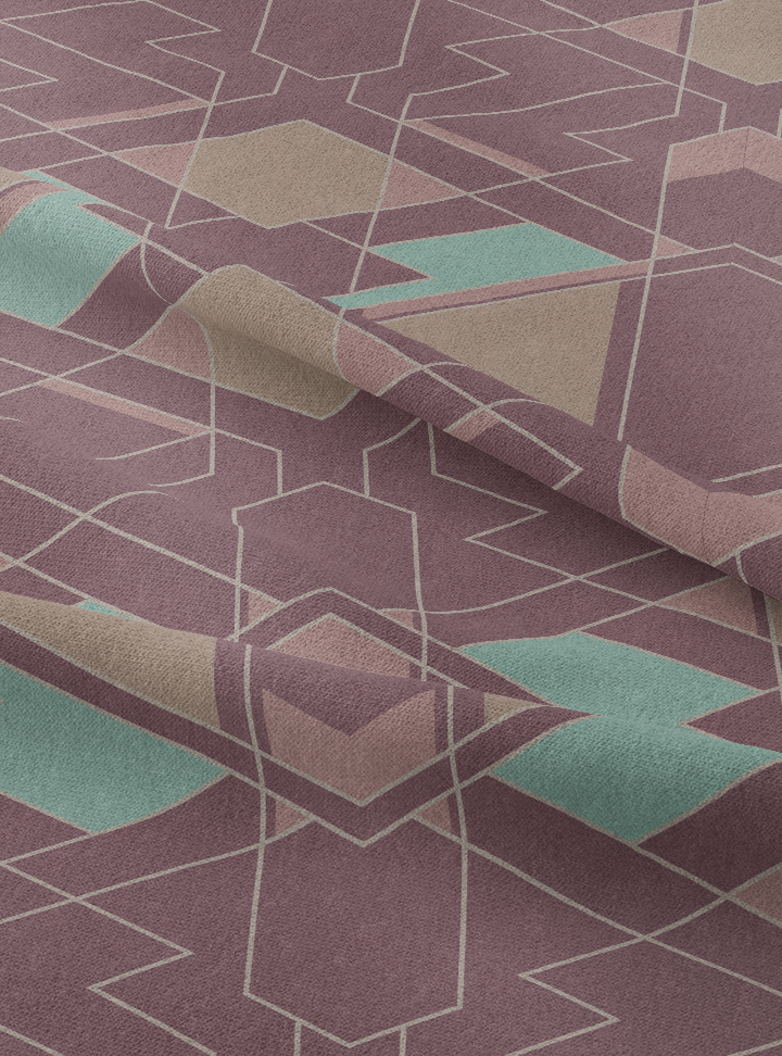 Load image into Gallery viewer, Metropolis Fabric - Warm Brown Cotton Linen
