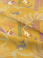 Bandar Log - Cheeky Yellow Cotton Linen