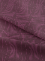 Ziggurat Fabric - Star Garnet Cotton