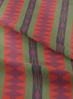 Seven Seas Fabric - Temple Red