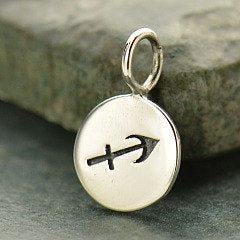 SAGITTARIUS 925 Sterling Silver Zodiac Charm - Add A Chain Option Avaliable - Insurance Included