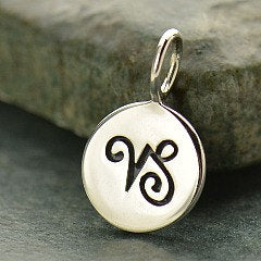CAPRICORN 925 Sterling Silver Zodiac Charm - Add A Chain Option Avaliable - Insurance Included