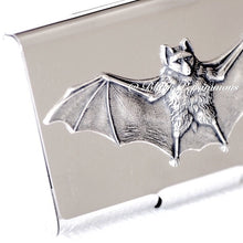 Macho Flash Bat Stainless Steel Business Card Case Box