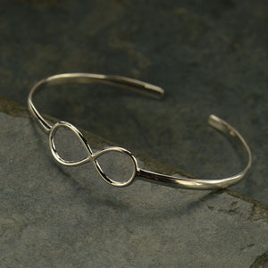 Infinity Bracelet - Solid 925 Sterling Silver