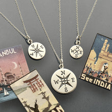 Journey Charm Necklaces - Solid 925 Sterling Silver