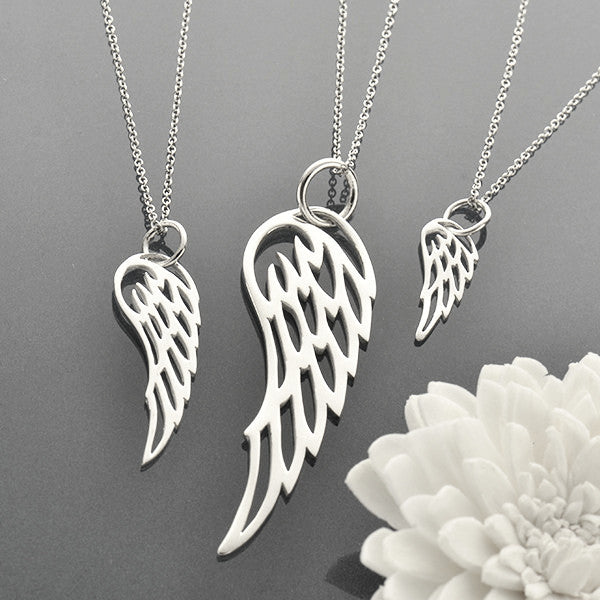 Flight Charm Necklaces - Solid 925 Sterling Silver
