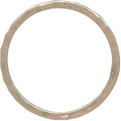 Hammered Stacking Ring - Natural Bronze - Size 6, 7, & 8